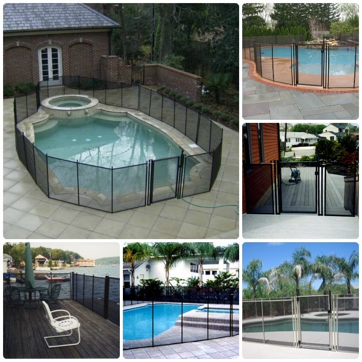 Removable Safety Mesh Pool Fence New Jersey Nj New York Ny